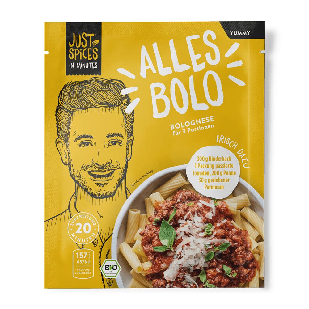 BIO Bolognese - In Minutes - Alles Bolo