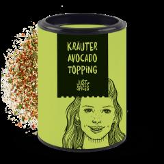 Kräuter Avocado Topping