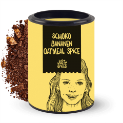Schoko Bananen Oatmeal Spice