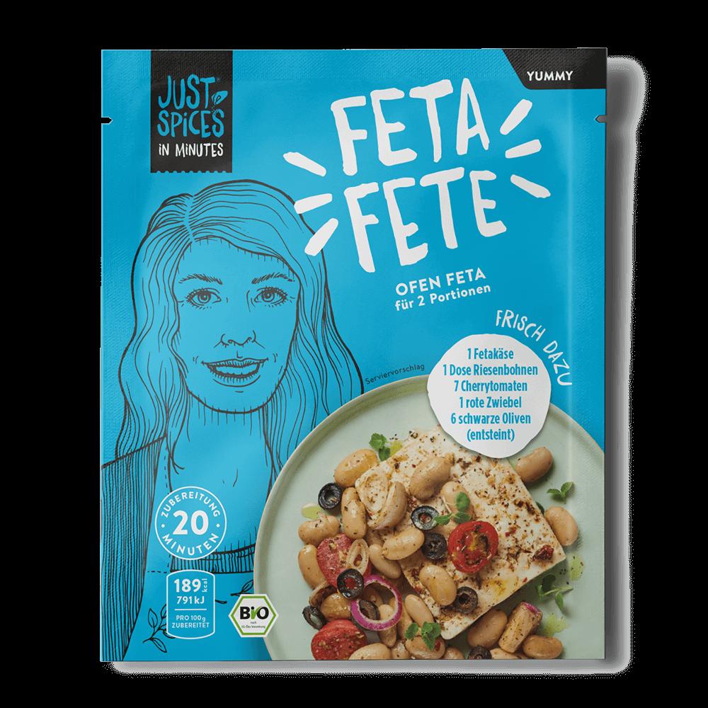 BIO Ofen Feta - In Minutes - Feta Fete