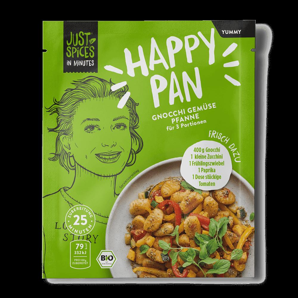 BIO Gnocchi Gemüse Pfanne - In Minutes - Happy Pan
