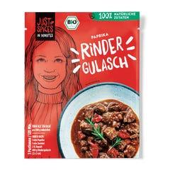 Bio Paprika Rinder Gulasch