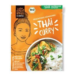 Bio Fruchtiges Hähnchen Thai Curry