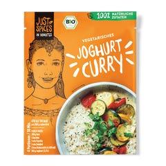 Bio Vegetarisches Joghurt Curry