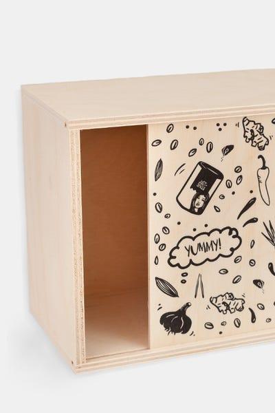 Just Spices Kleine Holzbox
