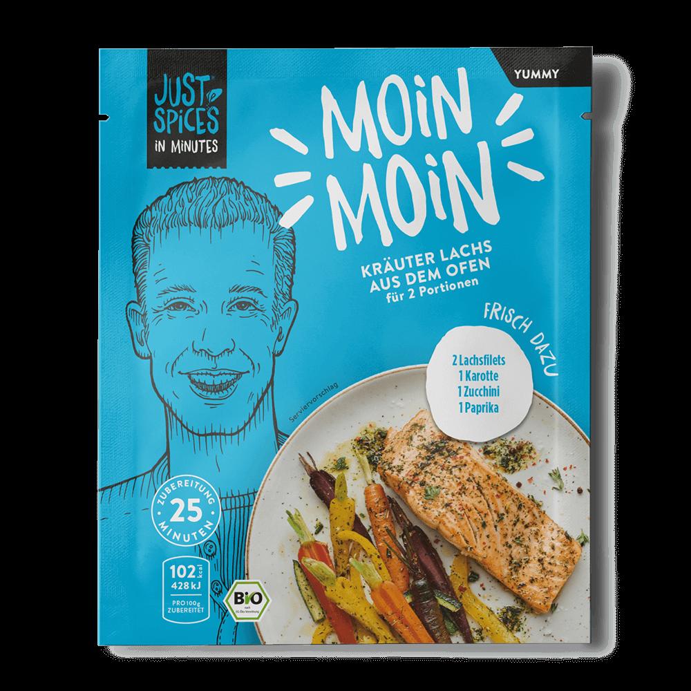 BIO Kräuter Lachs aus dem Ofen - In Minutes - Moin Moin