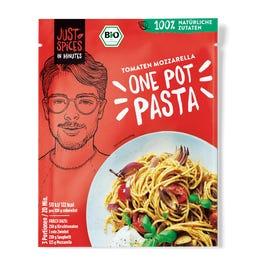 Bio Tomaten Mozzarella One Pot Pasta