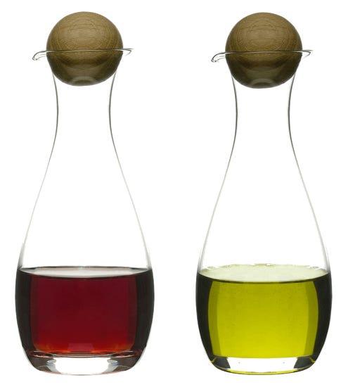 Sagaform Oval Oak Essig- und Ölset