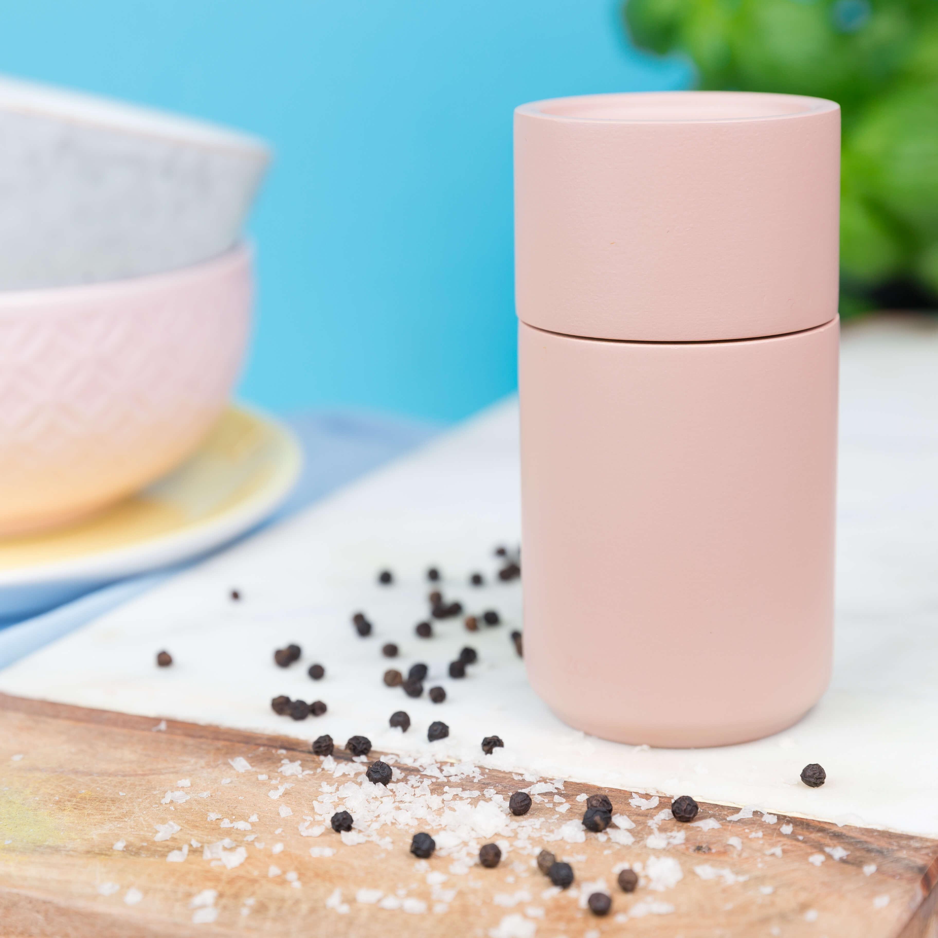 Zone Peili Salz- und Pfeffermühle, rosa