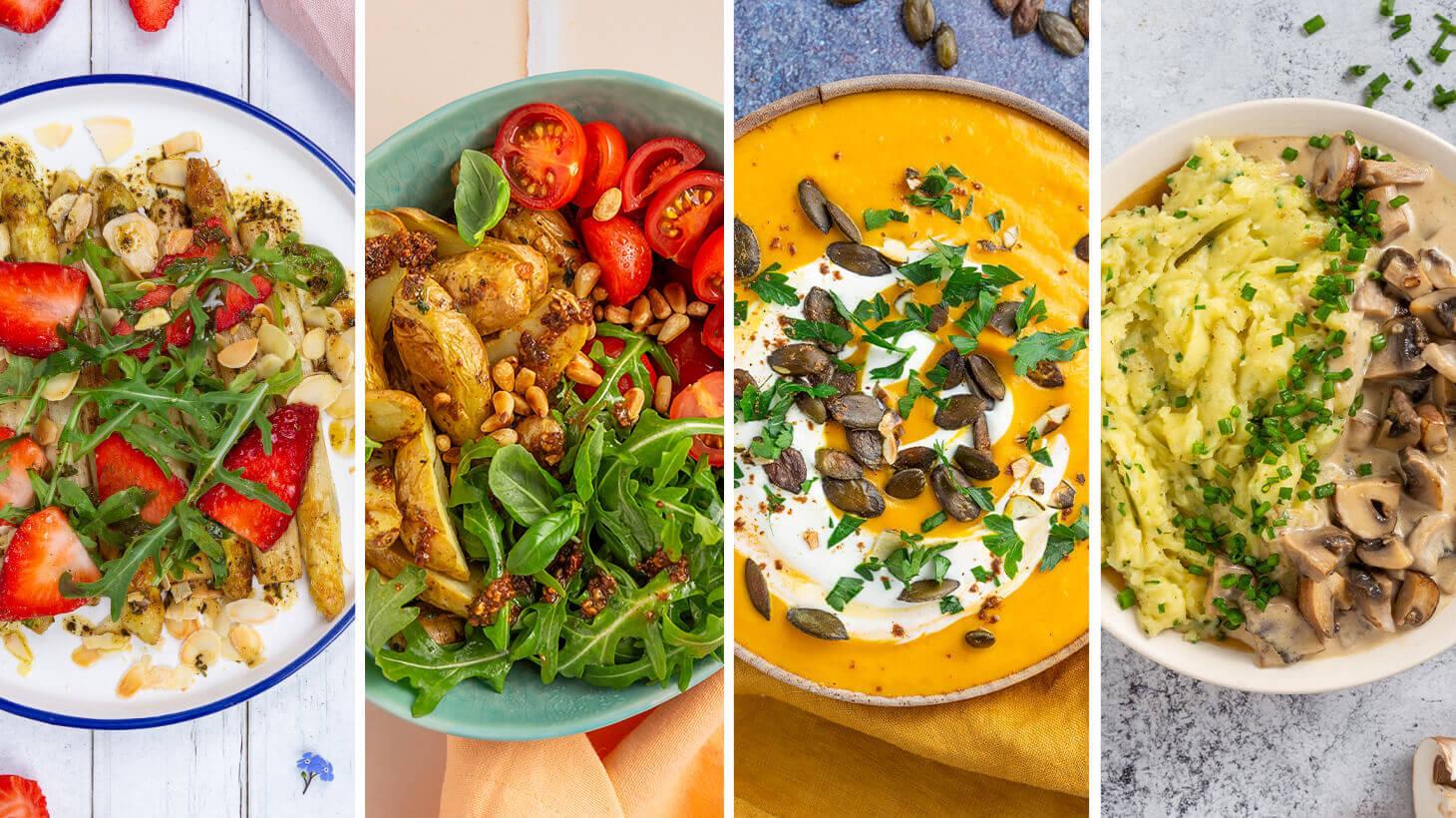 Saisonale Rezepte für eine saisonale Ernährung