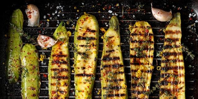 Zucchini richtig würzen