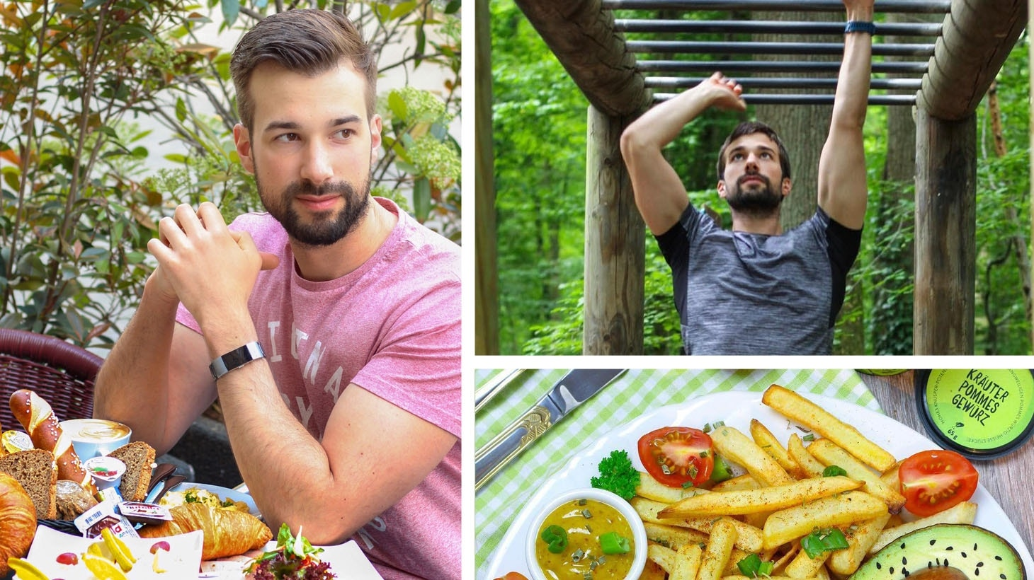 Marco aka marco_fitfood: Sportskanone und Küchenheld