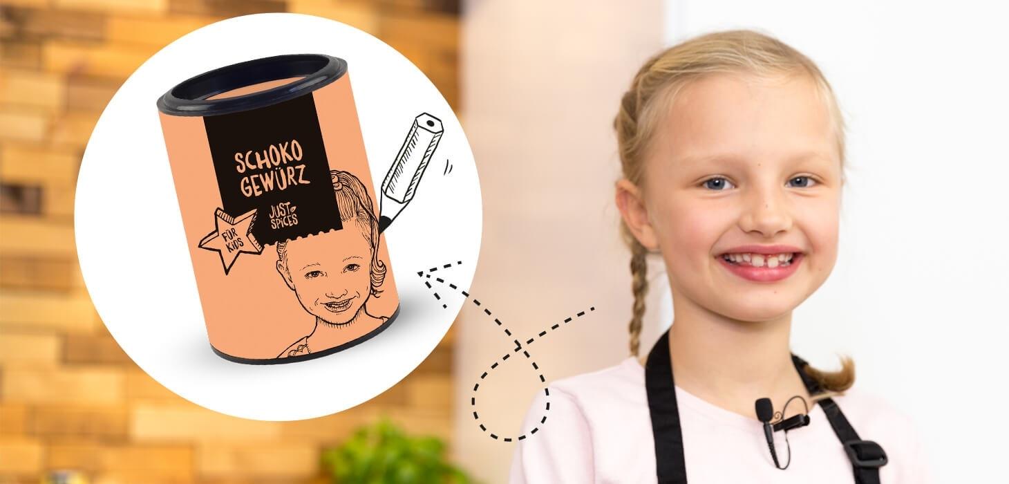 Schoko Gewürz für Kids