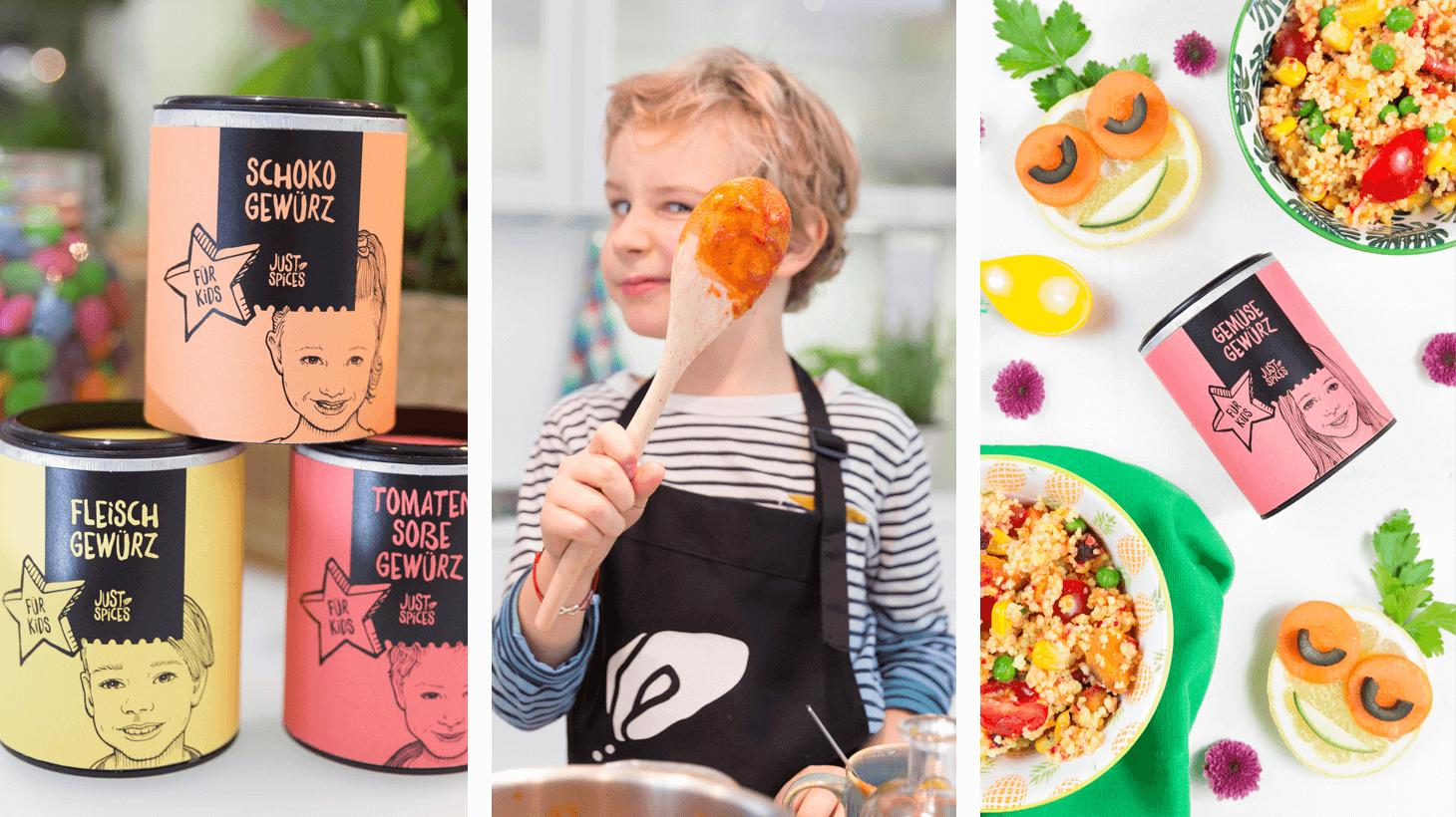 Kochen mit Kindern - Leicht gemacht mit der Kids Gewürzbox