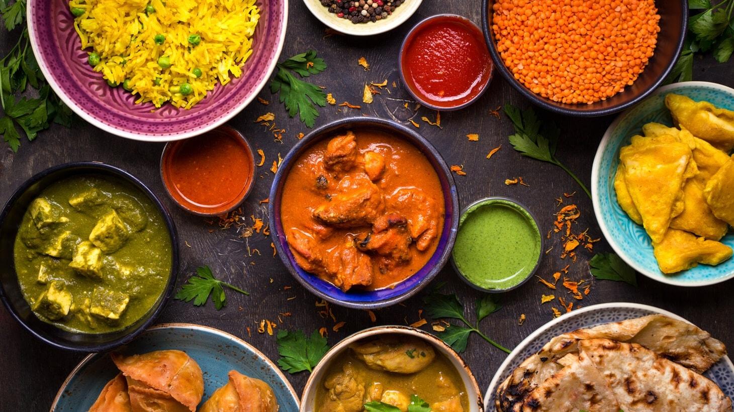 Im Gewürzparadies: Die Küche Indiens