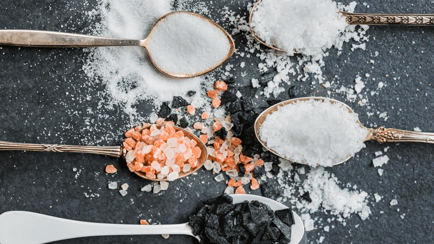 Verschiedene Salze und was Du darüber wissen solltest