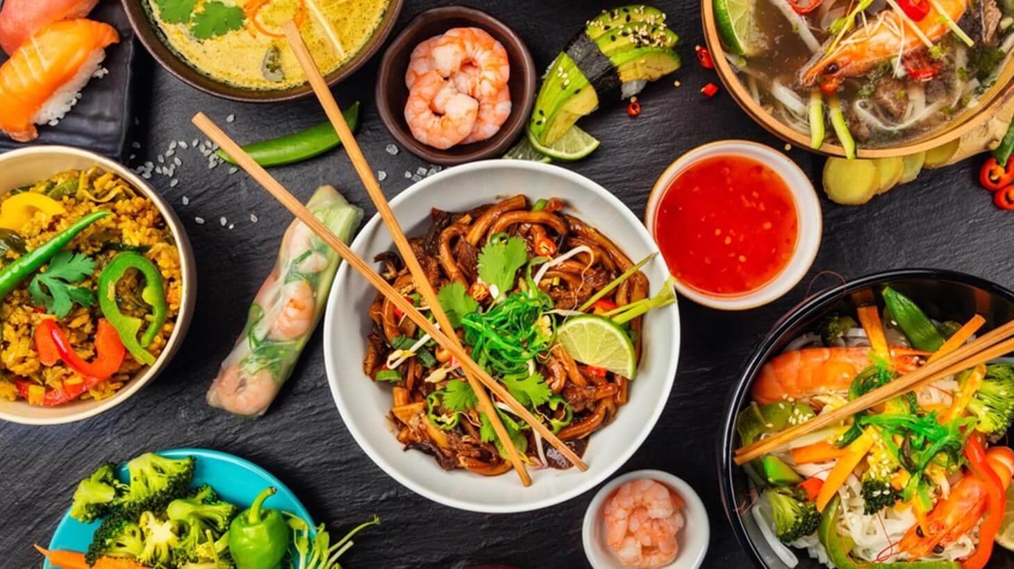 Super gesund und super lecker! Die asiatische Küche