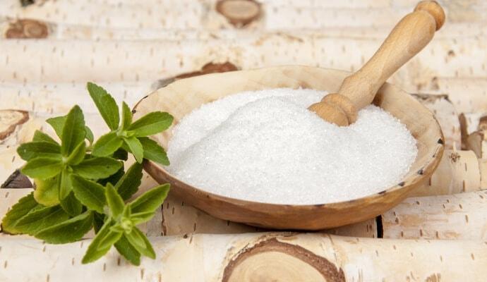 Zuckeralternative Xylit/Birkenzucker