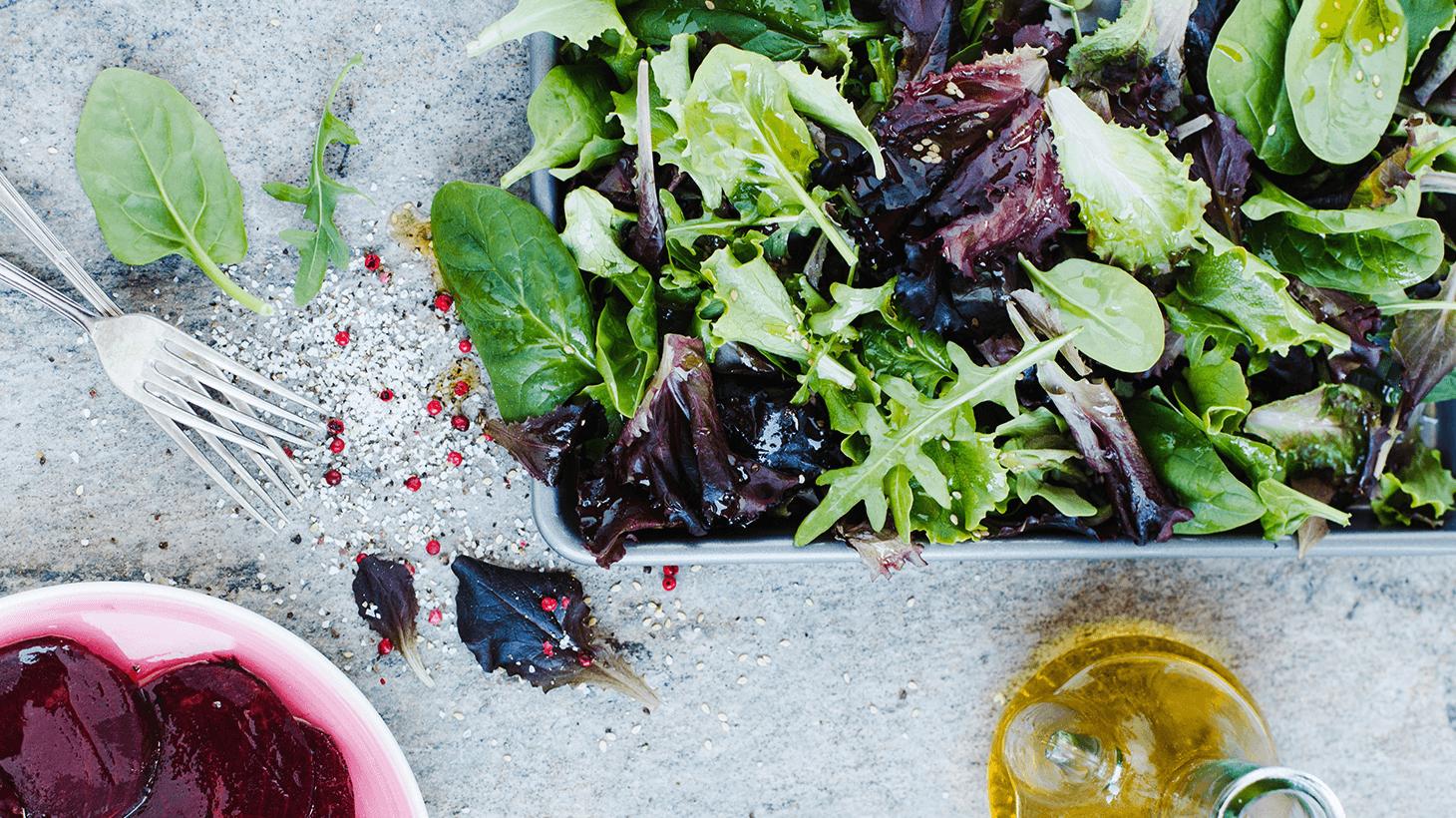 Verschiedene Salatsorten: Wie schmecken sie?