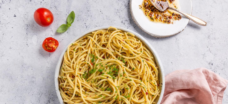 Aglio e Olio Spaghetti