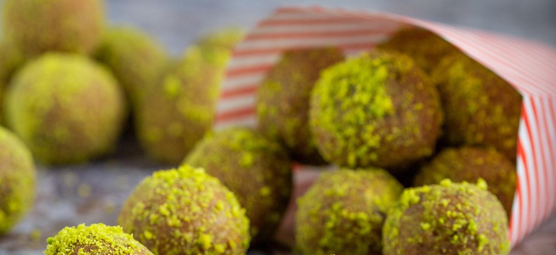 Pistazien Energyballs