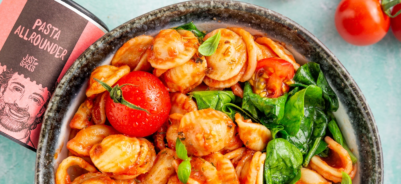 One Pot Tomaten-Pasta