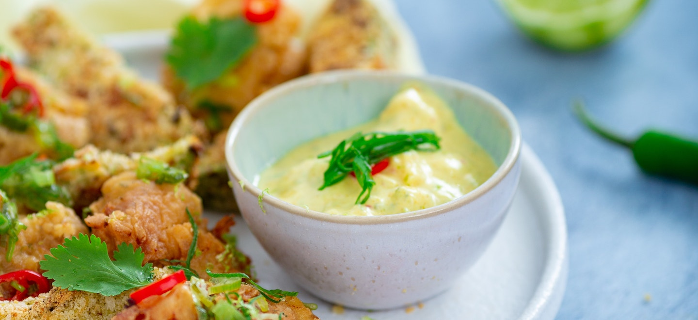 Mango-Curry Dip