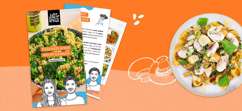 Machs einfach lecker: Mehr Obst und Gemüse essen