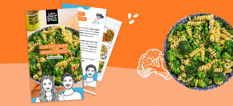 Essensplaner Mehr Obst und Gemüse