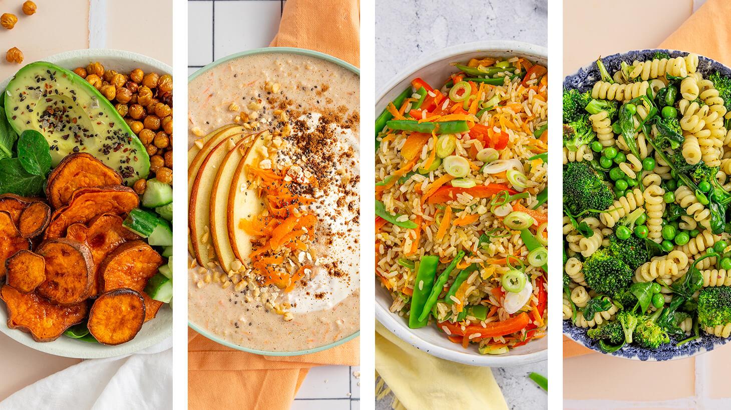Machs einfach lecker: 4 Wege, um Deine Ernährung zu verändern
