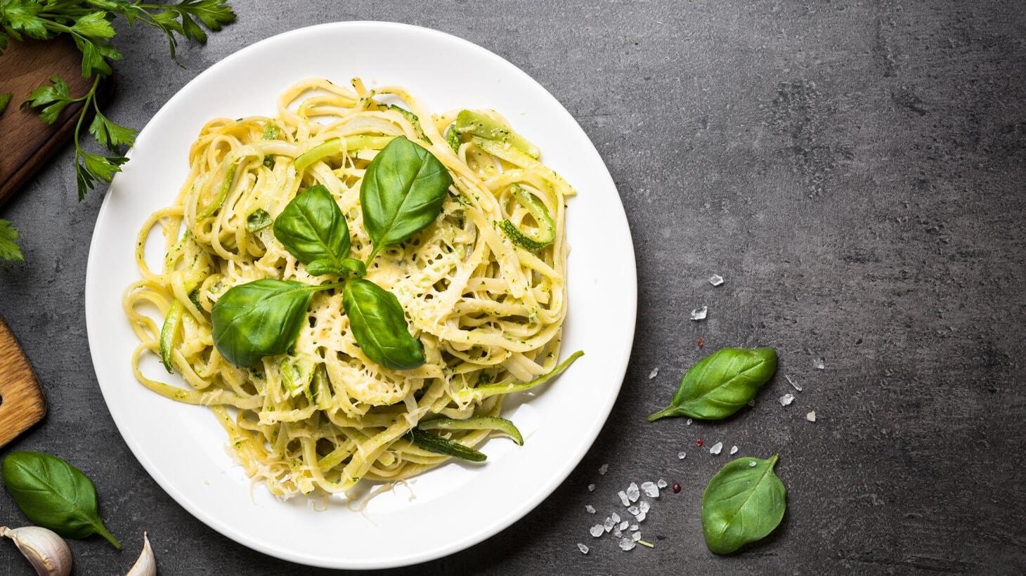 spaghetti mit parmesan