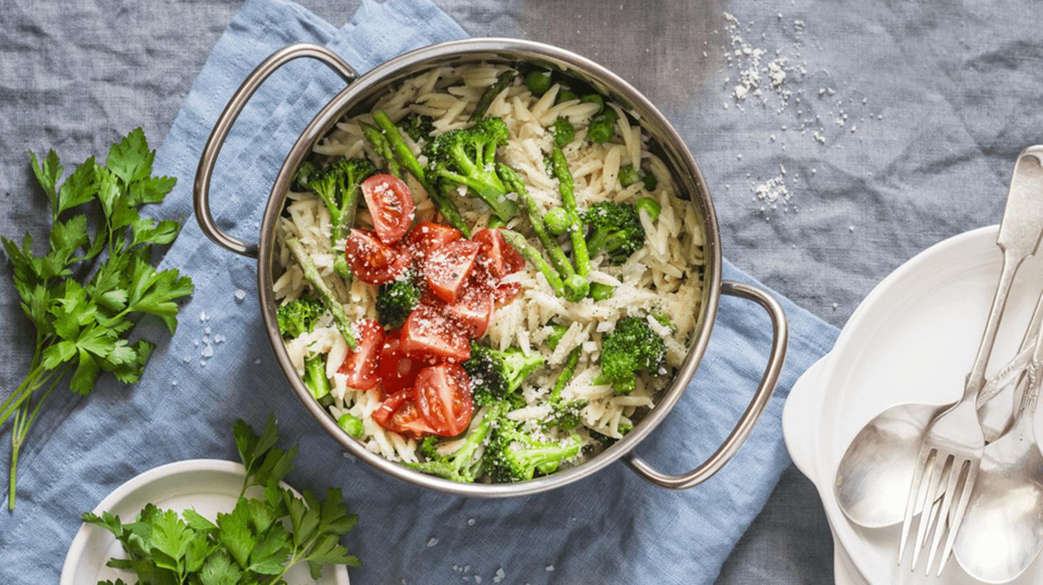 One Pot Pasta - Alles aus einem Pott