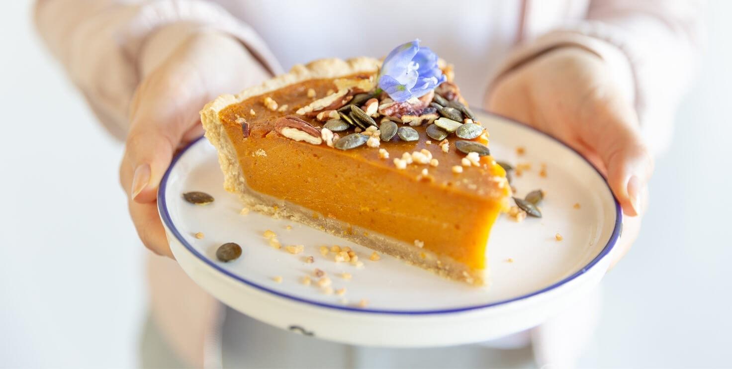 pumpkin pie oder kürbis kuchen