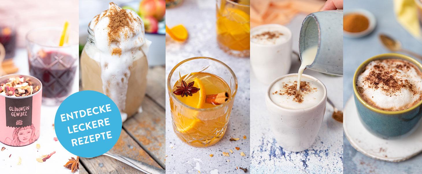 Winterrezepte für leckere Heißgetränke