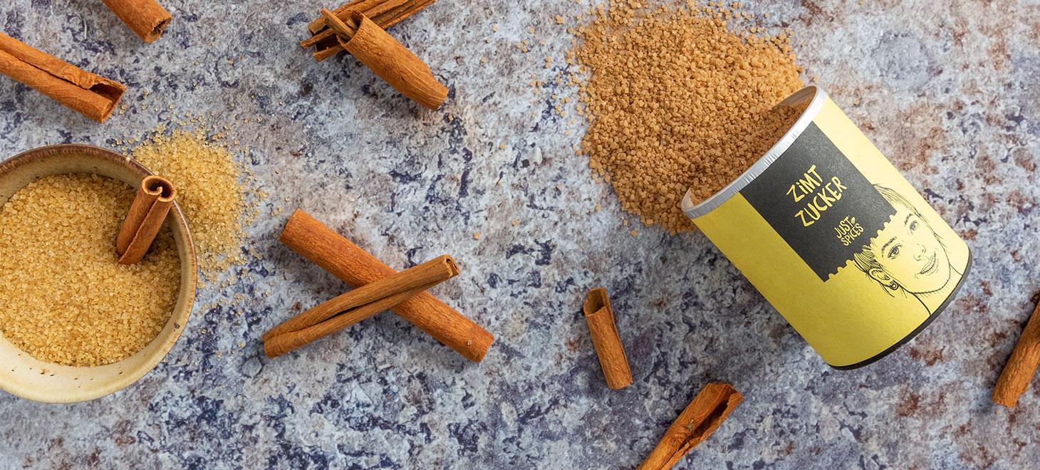 Zimtzucker Zimt und Zucker Just Spices
