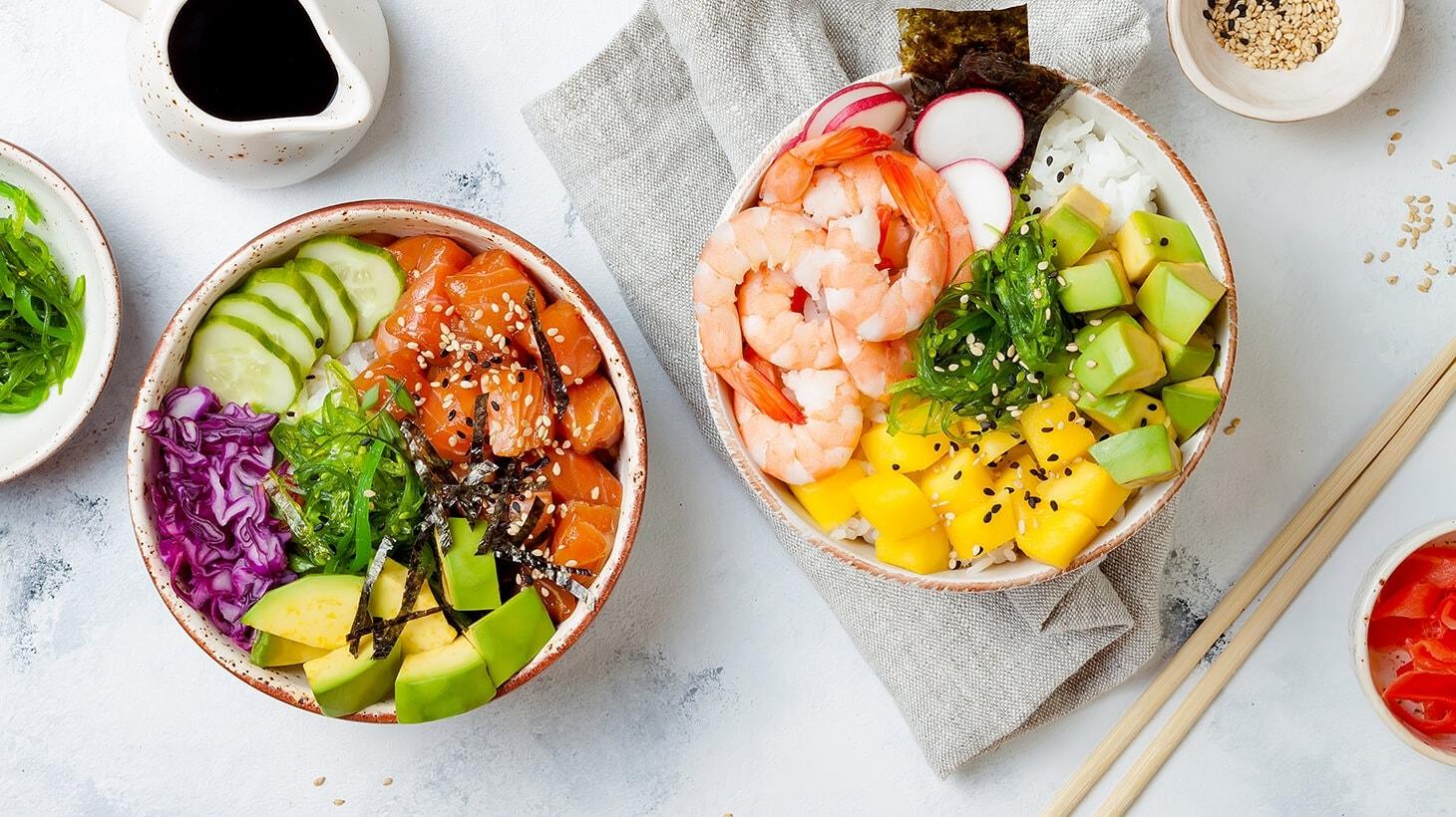 Schönes Schüsselchen! Die perfekte Poké Bowl
