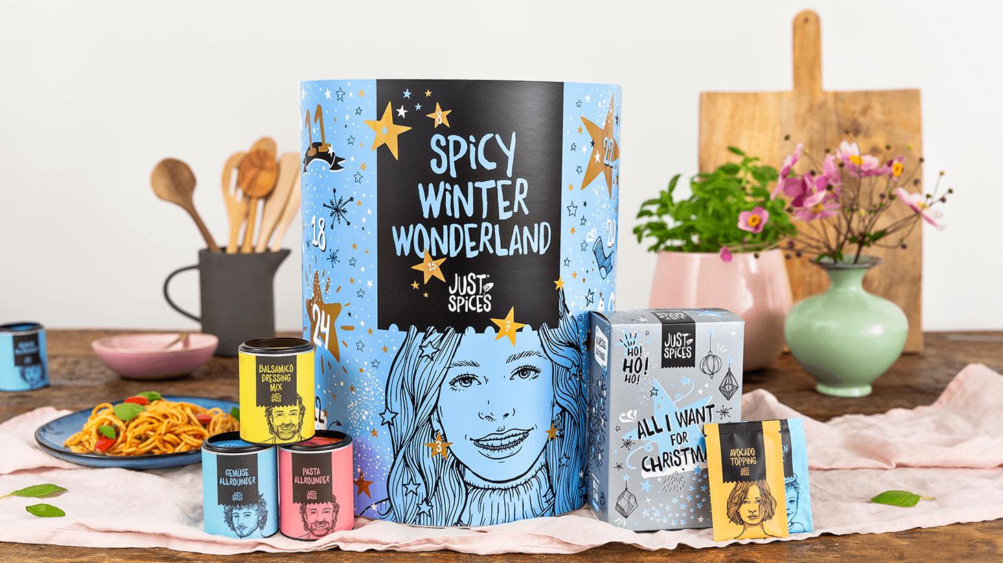 Der Just Spices Adventskalender 2020 - Dein Allrounder für's ganze Jahr!