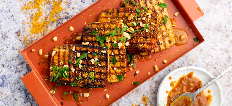 Tofu-mariniert