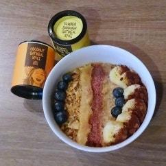 Bananen-Kokos Porridge