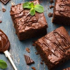 Schokoladen-Walnuss Brownies