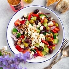 Schneller Griechischer Bauernsalat