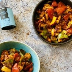 Hähnchen Paprika Pfanne