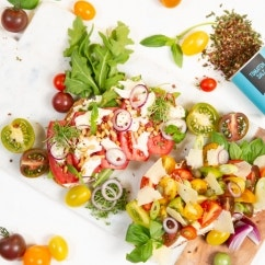 Knusprige Tomaten-Stullen