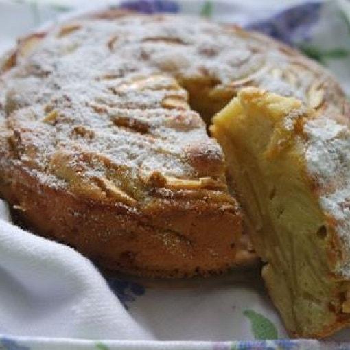 Apfelkuchen Scharlotka