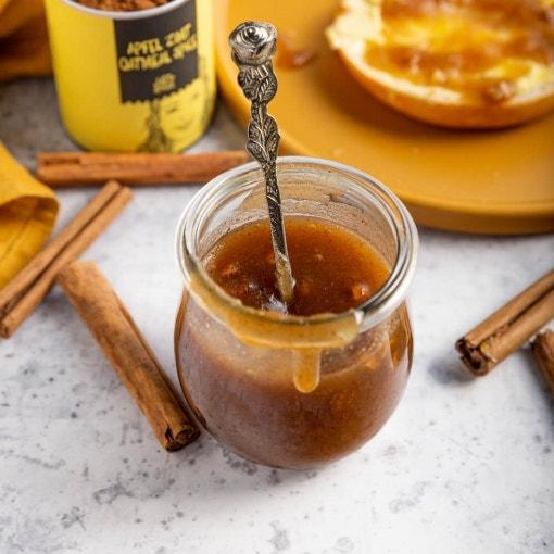 Apfel-Zimt Marmelade