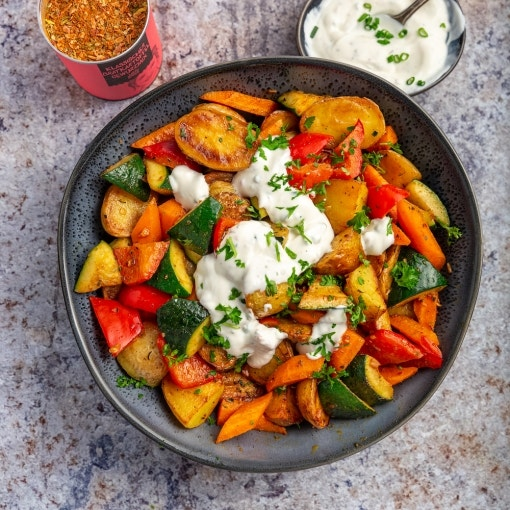 Kartoffel Gemüsepfanne