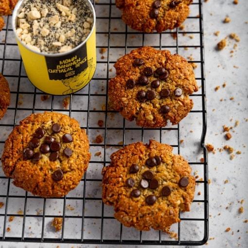 Vegane Oatmeal Cookies