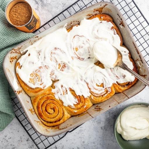 Pumpkin Pie Zimtschnecken ®