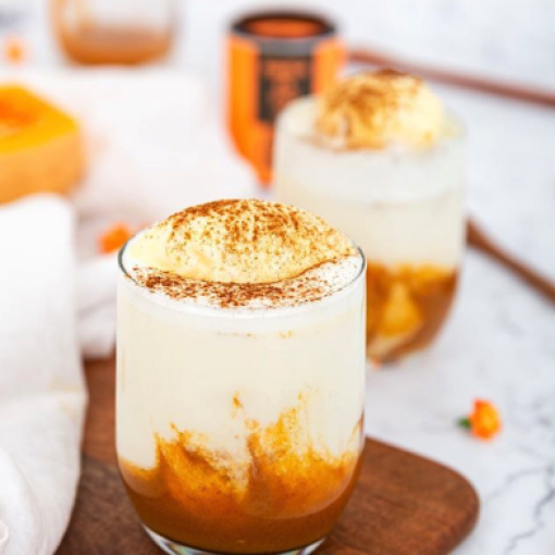 Pumpkin Pie Iced Latte