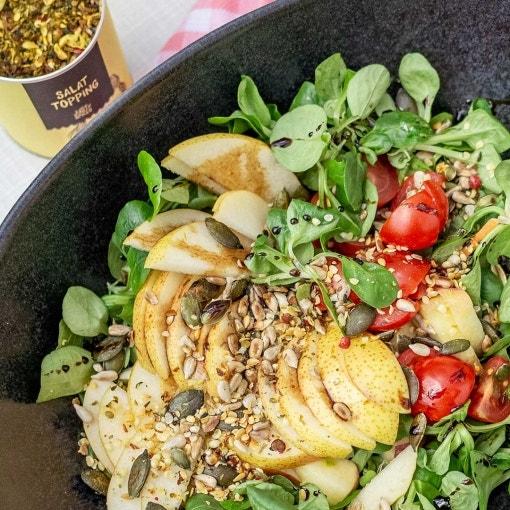 Sommerlicher Salat mit Birnen